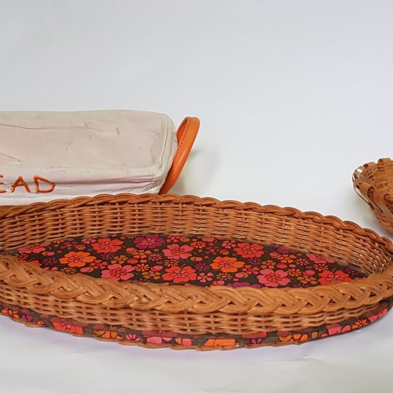 Кухонные корзины (плетеные)