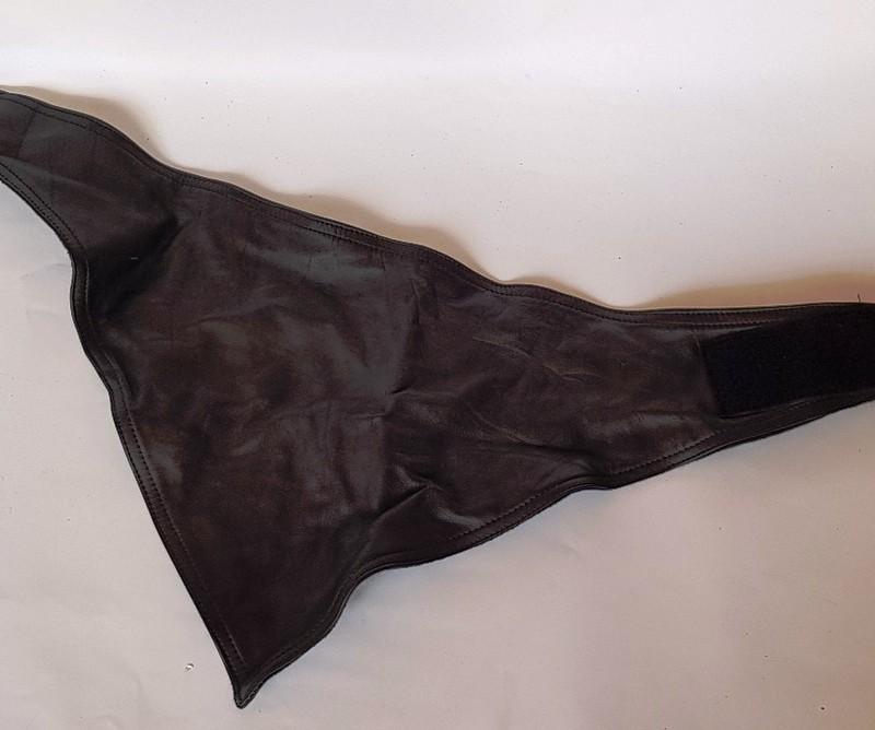 Кожаный шарф